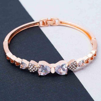 Rose Gold Stylish Bracelet: Jewellery