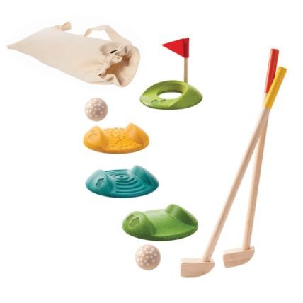 Mini Golf Full Wooden Set: Wooden Toys