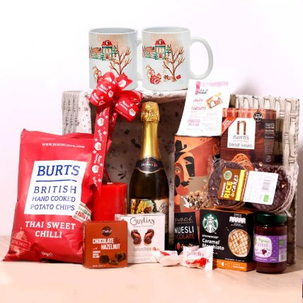 Christmas Wishes Snack Basket: New Year Gifts