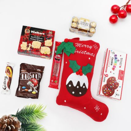 Christmas Delights in Stocking: Secret Santa Gifts