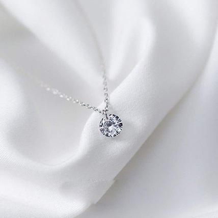 Simple Round Necklace: Jewellery