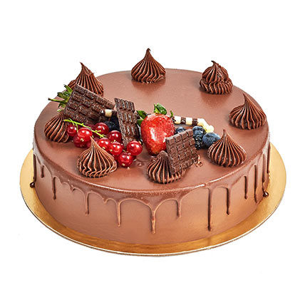 Fudge Cake: Happy Birthday Cakes