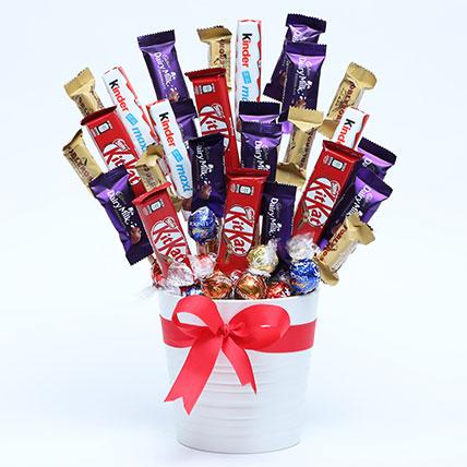 Chocolate Love Arrangement: Raksha Bandhan Chocolates
