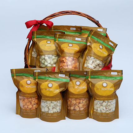 Salty Airpopped Popcorn Hamper: Bakery and Snacks