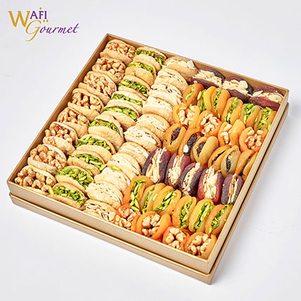 Box of Assorted Dried Fruits: Wafi Gourmet