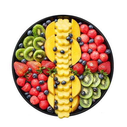 Healthy N Refreshing Mixed Fresh Fruits Platter: Food Gifts