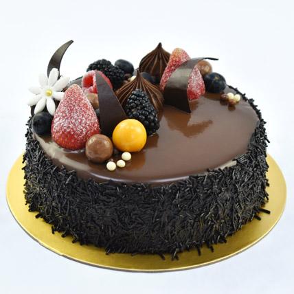 4 Portion Fudge Cake: Cakes