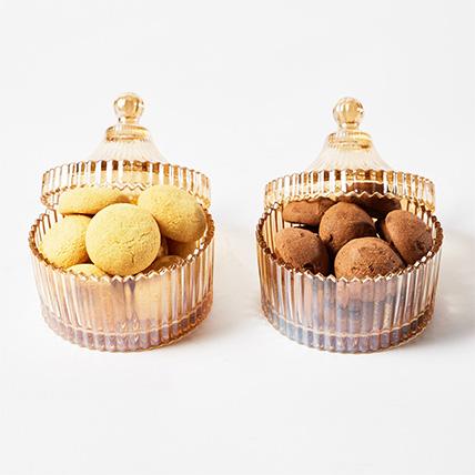 Decoratives Jars With Cookies: Cookies