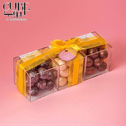 Mini 3 Cube Set Pearls Collection: Cube By Candylicious