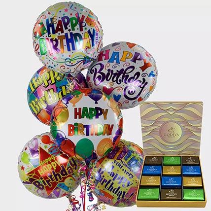 Birthday Balloons and Godiva Chocolates: Gifts for Men