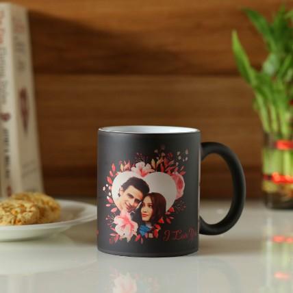 I Love You Personalised Magic Mug: Personalised Mugs