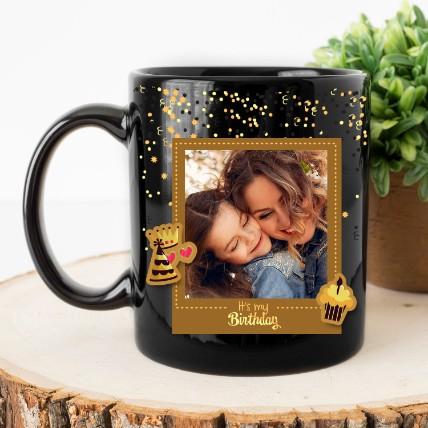 Its My Birthday Personalised Magic Mug: Birthday Gift for Girlfriend