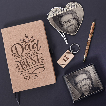 Egraved Gifts Combo For Best Dad: Gifts for Dad