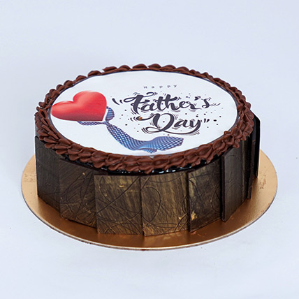 Fathers Day Special Chocolate Cake: Fathers Day Cakes