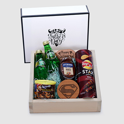 Happy Father's Day Premium Hamper: Fathers Day Gifts