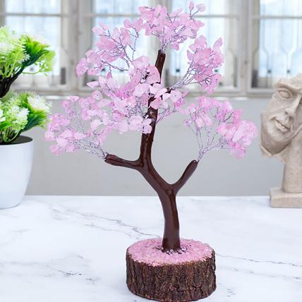 Rose Quartz Wish Tree: Wish Trees