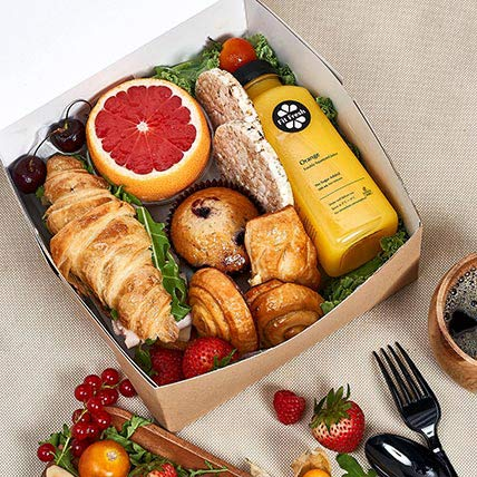 Breakfast Box For One: Food Gifts