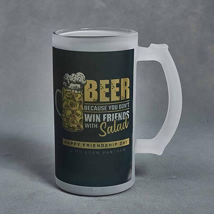 Beer Mug For Friend: Friendship Day Mugs