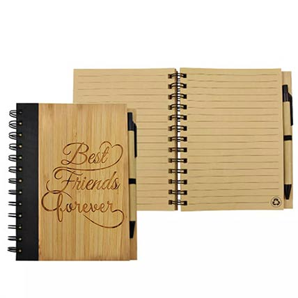 Best Friend Forever Bamboo Diary: Gifts for Friend
