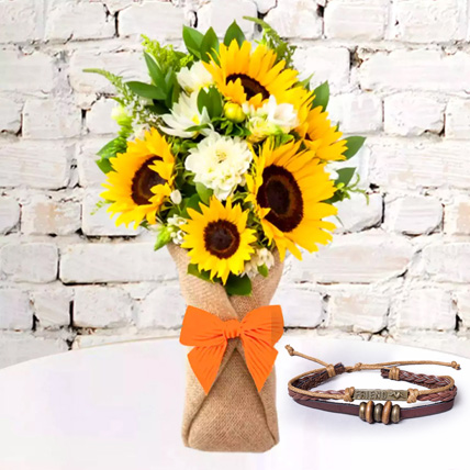 Friensdship Band with Sunflower Galore: Friendship Bands