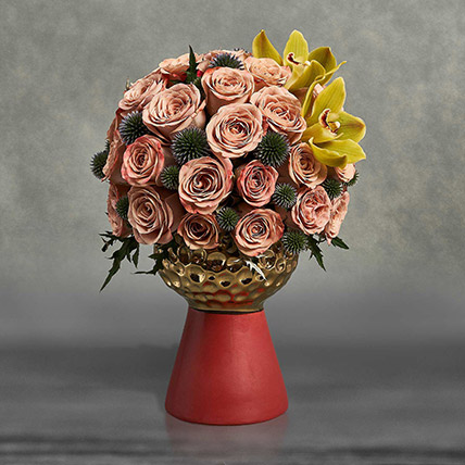 Being Peachy Being Beautiful: Roses Bouquet