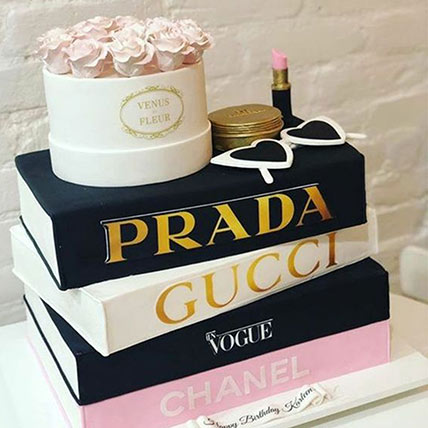 3D Luxurious Brands Cake: Marble Cakes