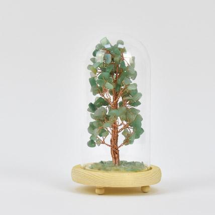 Green Gemstone Wish Tree: Wish Trees