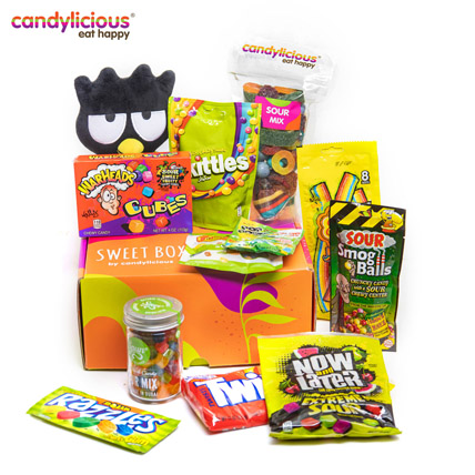 Sweet Box Sour Edition Pucker Up: Candylicious