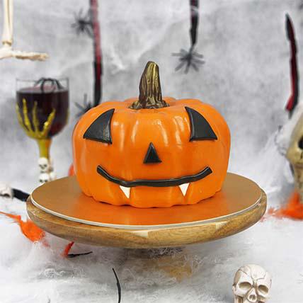 Evil Pumkin Cake: Halloween Cakes