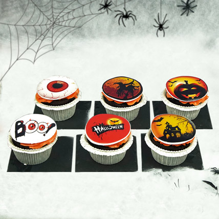Witches and Eyes Cupcakes: Halloween Cupcakes
