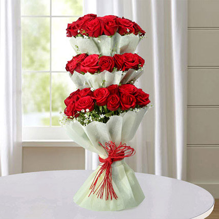 Multi Storied Roses LB: Gifts Delivery Lebanon