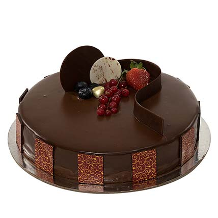 1kg Chocolate Truffle Cake LB: Gifts Delivery Lebanon