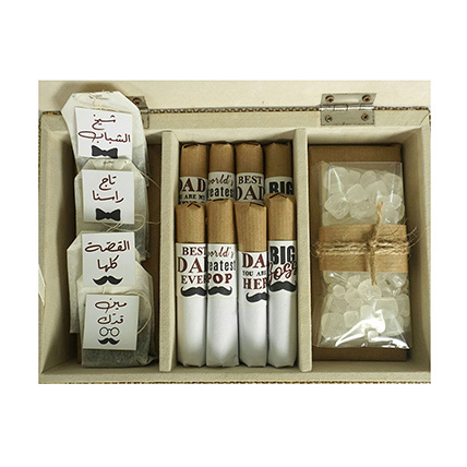 The Dad Box Chocolate And Tea Gift Set: Gifts Delivery Lebanon