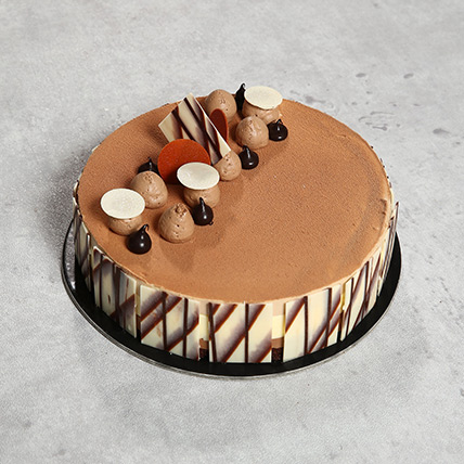 4 Portion Triple Chocolate OM:  Cake Delivery in Muscat
