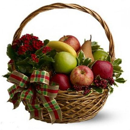 Fresh Seasonal Fruit Basket PH: