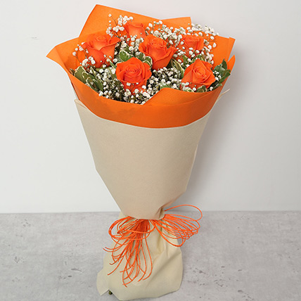 Bouquet Of Orange Roses PH: Flowers Delivery in Philippines