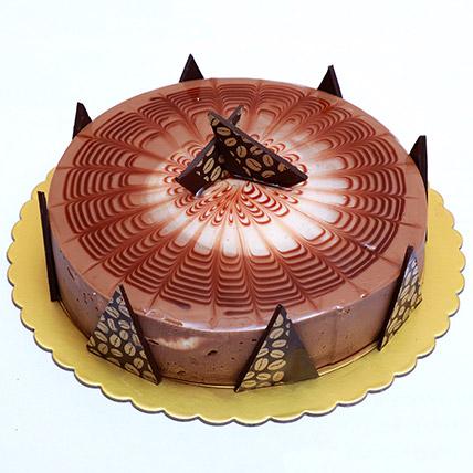 Rich Cappuccino Cake: Send Cake to Qatar