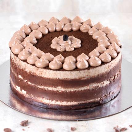 Chocolaty Tiramisu Cake Half Kg: Cake Delivery in Saudi Arabia