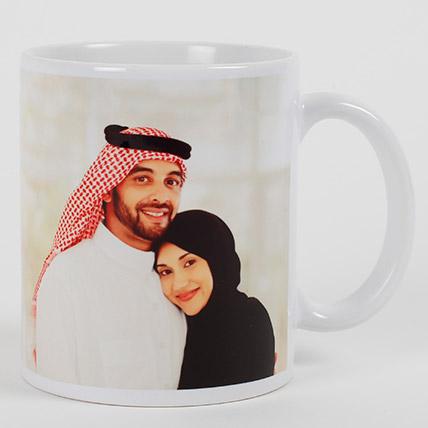 Heartfelt Love Personalized Mug: Send Gifts to Jeddah