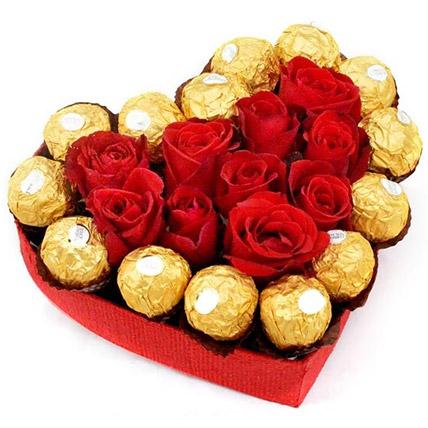 Sweet Love Heart Box:  Gift Delivery In Sri Lanka