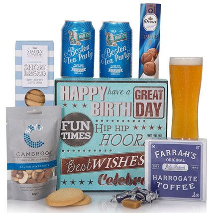 Delightful Snack Birthday Gift Box:  Gifts UK