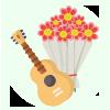 Flowers N Guitarist