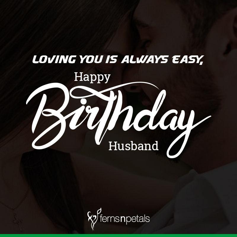 happy birthday to hubby