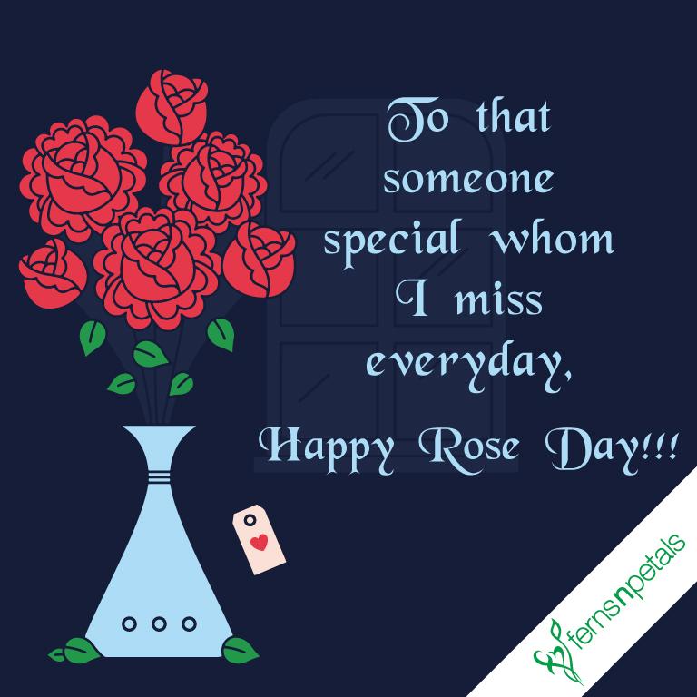 wishing rose day online