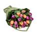 Mixed Tulip Arrangement