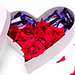 Heart Of Chocolates And Roses