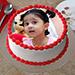 Creamy Photo Cake 1 Kg Truffle Cake
