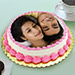 Personalized Cream Cake 2 Kg Truffle Cake