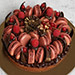 Tempting Choco Macronade Cake 4 Portion
