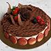 Luscious Triple Chocolate Cake 4 Portion